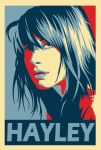 Hayley Williams obey poster by ParaSadness
