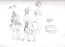 Spyro TJH Character Concepts by NewLegend1