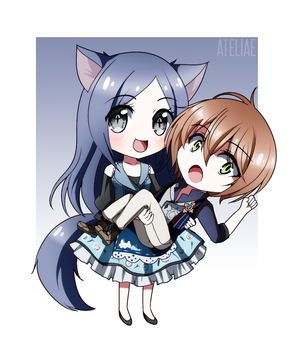 [CM] Chaira and Kelessnt by Ateliae