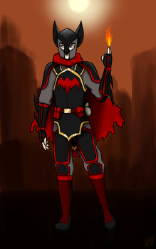 Wolfbatman Beyond by AgentSAMa