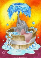 Dumbo bubble bath by magur