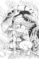 JG cover 5 pencil by Adrianohq