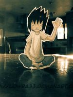 Sasuke Animation Paperchild II by MlleLowra