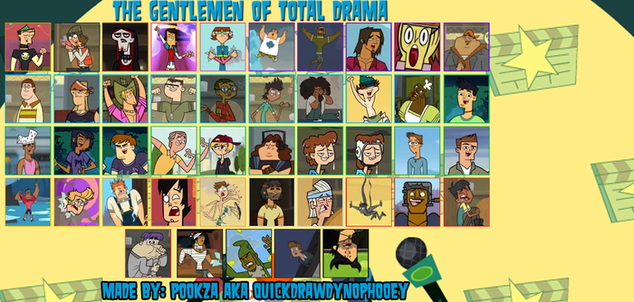 Total Drama Gentlemen Meme by King-D4