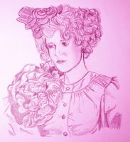 Effie Trinket by princesspomegranate