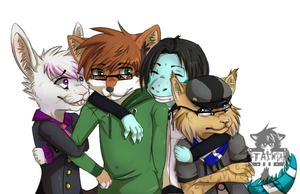 Ain't no Party like a Quartet Party :CO: by x0Tashia0x