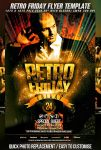 PSD Retro Friday Flyer Template by retinathemes