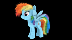 My Little Fluffies - Rainbow D OLD by VeryOldBrony