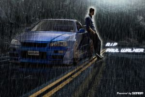 RIP Paul Walker by Szaba18