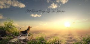 All Good Dogs Go To Heaven by ElementOfOne1