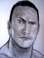 WWE The Rock by VinceArt