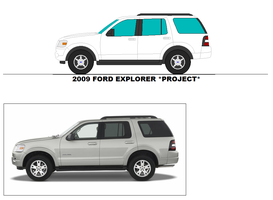 2009 Ford Explorer Project By Misterpsychopath3001 by mcspyder1