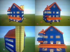 [Minecraft] Chartruse's House by SurgeCraft