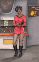 Old Skool Uhura by Art-ifact