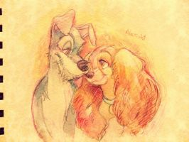 Lady and the Tramp by Natsu-Nori
