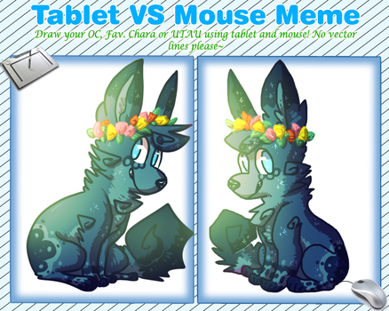 tablet vs trackpad meme again by Phyllisophical