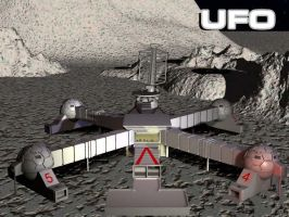 UFO SHADO Moonbase by bdy