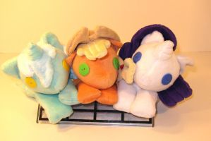 MLP Beanies by The-Night-Craft