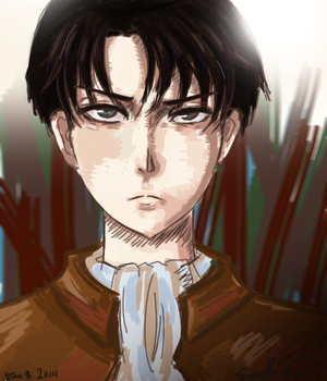 Another Levi doodle by SamWonderLand