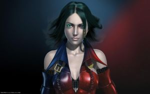 Alicia Bullet Witch Red n Blue by PyrZern
