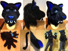 Toony Sabercat Partial FOR SALE by AtmosFur