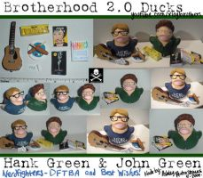Brotherhood 2.0 John and Hank by msfurious
