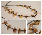 Human Teeth Necklace by cryoclaire