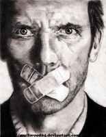 Gregory House portrait by wulfwood04