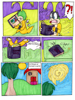 Iggy Koopa adventures in FantasyWorld page 8 by Aso-Designer
