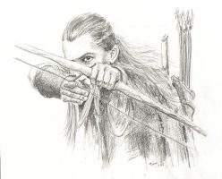 Legolas Greenleaf by Powerfulwoodelf