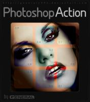 Photoshop Action Ver.2.1 - 2.9 by General1991
