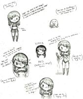 Human MP3 doodles by Ask-MusicPrincess3rd