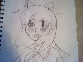 Ok this is my first actual human marie by SCOURGESBABE
