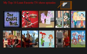 Top 10 Worst Tv Show Episodes by DaJoestanator