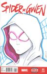 Spider-Gwen #1 Sketch Cover by T16skyhopp