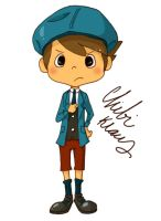 Professor Layton Series- Klaus by PurpleSmock