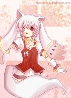-- Gijinka Project: Kyubey -- by Kurama-chan