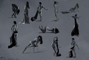 Figure Drawings, 2014-05-17 by zacharyknoles