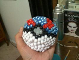 Kandi Pokeball :Original: by RavenEvanescence02