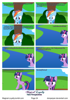 Magical Loyalty - New Perspectives Page 24 by WaveyWaves