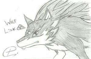 Wolf Link by PATUX3T