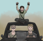 Mad Max (self-insert weekend) by SteamMouse