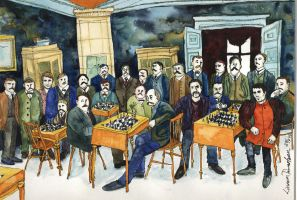 A Chess club and Muse by Tawastman
