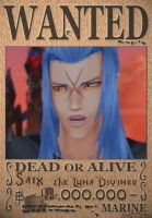 Saix Wanted Poster by SoraKing