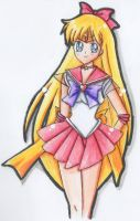 Sailor Venus by Nyashkaa