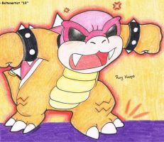 Roy Koopa by Boltonartist