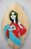 Our Lady of Guadalupe by LolliPopSuicide