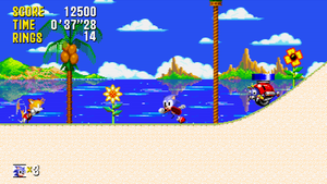 Sonic and Tails - Mock Up 'Cyan Coast Zone Act 1' by MrLevRocks