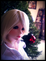 BJD - Lilyiena and the little red bulb by EsotericDichotomy
