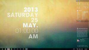 My Desktop 25 May by rashadisrazzi